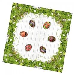 Serweta zielona łąka 75 x 75 cm