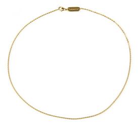łańcuszek magnetyczny 558-11 pozłacany dł. 70 cm.