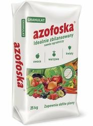 Azofoska, uniwersalny nawóz do warzyw, owoców, kwiatów, trawników, granulat 25kg
