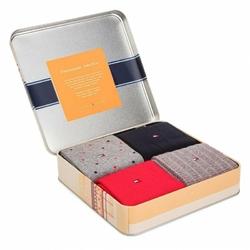 Zestaw 4 par skarpet Gift Box Tommy Hilfiger - 392003001 085