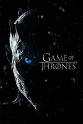 Game of thrones night king - plakat z serialu