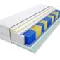Materac kieszeniowy tuluza multipocket 125x165 cm średnio twardy lateks visco memory