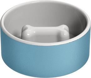 Miska dla psa naturally cooling ceramics niebieska m