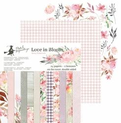 Papier Love in Bloom 15,3x15,3 cm - zestaw