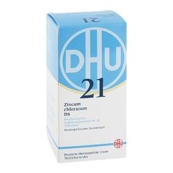 Biochemie dhu 21 zincum chloratum d 6 tabl.