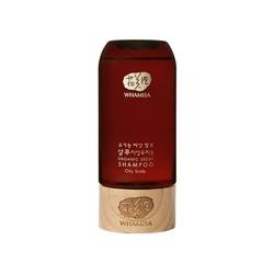 Whamisa mini produkt odświeżający szampon do przetłuszczającej się skóry głowy organic seeds shampoo oily scalp 105ml