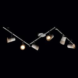 6-kierunkowy reflektor sufitowy w kolorach białym i beżowym w nowoczesnym stylu 542020706