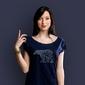 Mis ludwan t-shirt damski granatowy xxl