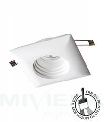 Ceramic oczko kwadratowe 1 biały 11