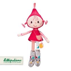 Lilliputiens lalka w pudełku czerwony kapturek 6 m+