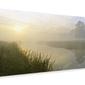 River aln dawn - obraz na płótnie