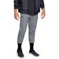 Spodnie dresowe męskie ua unstoppable 2x knit jogger - szary