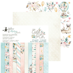 Papier Cute  Co. 15,3x15,3 cm - zestaw