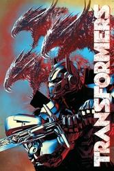 Transformers The Last Knight Dragons - plakat z filmu