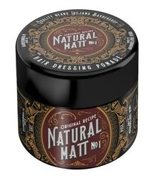 Lucjans barber shop natural matt - glinka do włosów, mocny chwyt  matowe wykończenie 100 ml