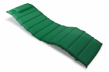 Poduszka na leżak ogrodowy w kolorze ciemnozielonym