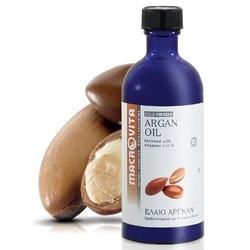 Macrovita olejek arganowy - tłoczony na zimno olejek kosmetyczny z kompleksem witamin e+c+f 100ml