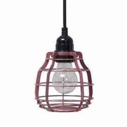 Hkliving :: lampa wisząca lab różowa