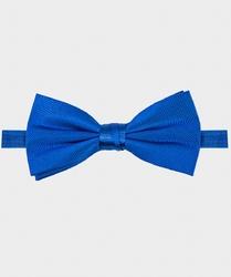 Muszka jedwabna męska w kolorze niebieskim