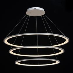 Lampa wisząca 3 okręgi led 122cm, zdalne sterowanie regenbogen hi-tech 661016903