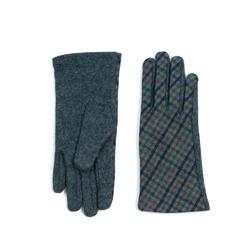 Rękawiczki pepitka szare - SZARE