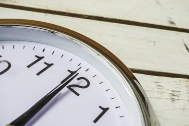 Zegar ścienny okrągły 25 cm