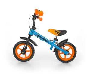 Milly mally dragon blue rowerek biegowy z hamulcem + dzwonek + prezent 3d