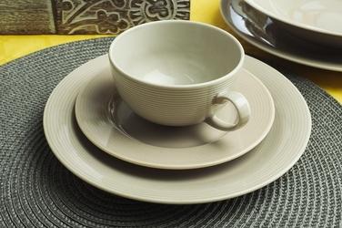 Lubiana eto serwis obiadowy i kawowy 306 beżowy