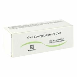 Jso Jkh Gewebemittel Gw 1 Caulophyllum cp Glob.