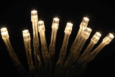 Lampki choinkowe 200 led na łańcuchu joylight białe ciepłe z programatorem 8 funkcji ip44