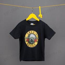 Koszulka rockoff - guns n roses logo