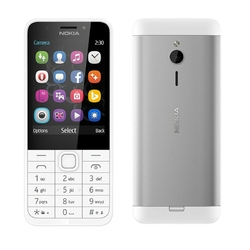 Nokia 230 DS Silver-White