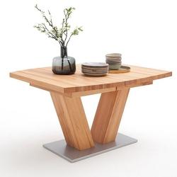 Drewniany bukowy rozkładany stół managua b  140-220 x 90 cm