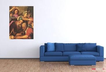 wypędzenie przekupniów ze świątyni rembrandt van rijn ; obraz - reprodukcja