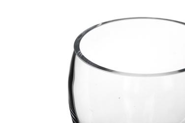 Wazon szklany średnica 12 cm wysokość 13 cm