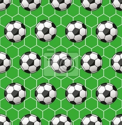 Fototapeta piłka nożna bez szwu wzór