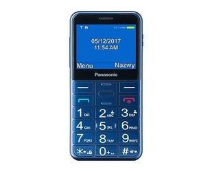 Panasonic Telefon dla seniora KX-TU150 niebieski