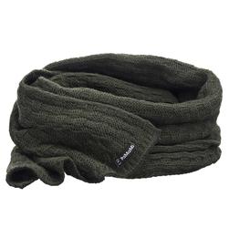 Komplet damski luksus czapka szalik khaki - KHAKI