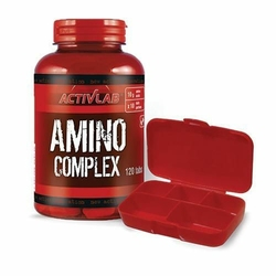 ACTIVLAB AMINO COMPLEX - 120tab + Pillbox