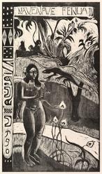 Delightful land, paul gauguin - plakat wymiar do wyboru: 70x100 cm