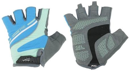 Rękawiczki rowerowe vivo sb-01-8503-b niebieskie