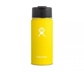 Kubek termiczny hydro flask 473 ml coffee wide mouth żółty
