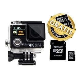 Kamera sportowa slim 4k orllo extreme x3 + 32gb