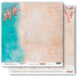 Ozdobny papier Natures Spirit - Dreamcatchers - 02
