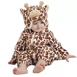 Piżama onesie kigurumi dla dzieci żyrafa