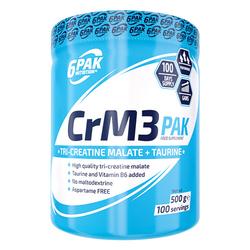 6PAK CrM3 Pak - 500g - Natural
