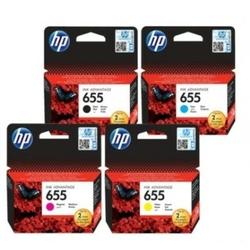Tusze Oryginalne HP 655 CZ112A, CZ111A, CZ110A, CZ109A komplet - DARMOWA DOSTAWA w 24h