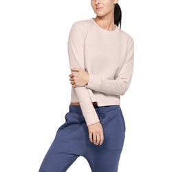 Bluza damska under armour unstoppable move light radial back pleat - różowy