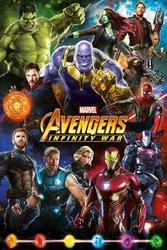 Avengers: Infinity War Characters - plakat