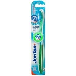 Jordan target teeth  gums soft szczoteczka do zębów x 1 sztuka